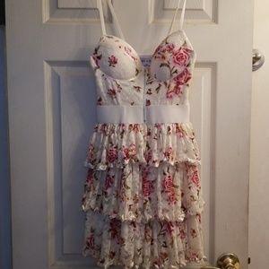 Rachel and Chloe Lace and Satin Summet Dress